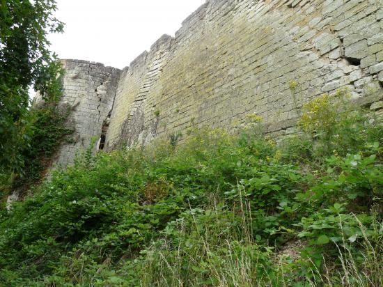 Vestiges du château des Evêques de Metz