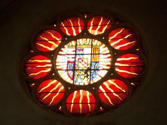 Rosace de la chapelle des Cordeliers