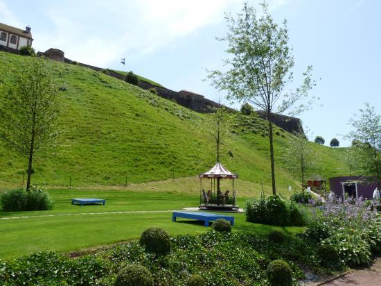 Jardin au pied de la citadelle