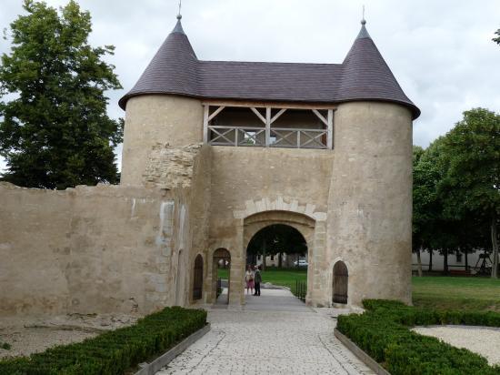 Château vu de derrière