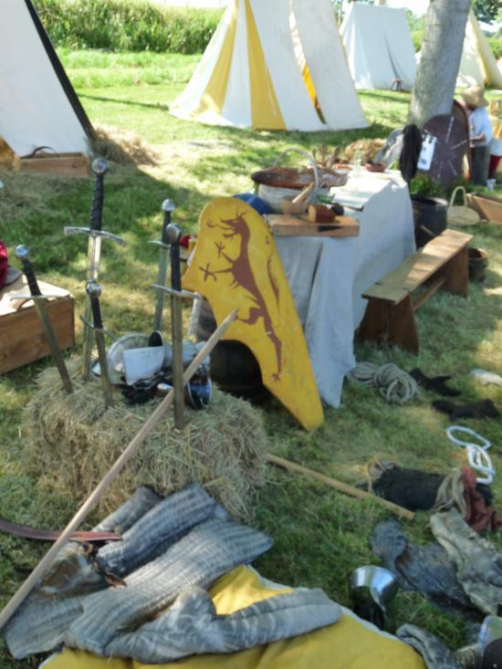 Le camp des chevaliers (1)