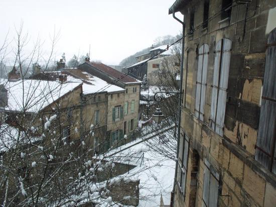 Bar-le-Duc sous la neige