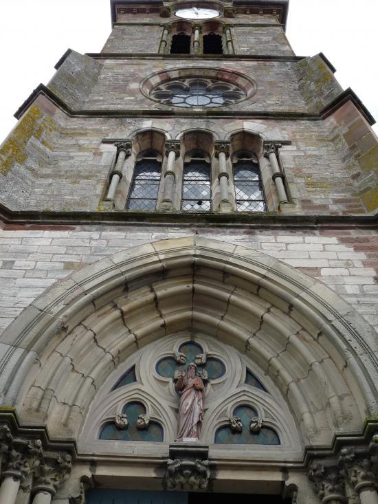 Porche de l'église Saint-Marien