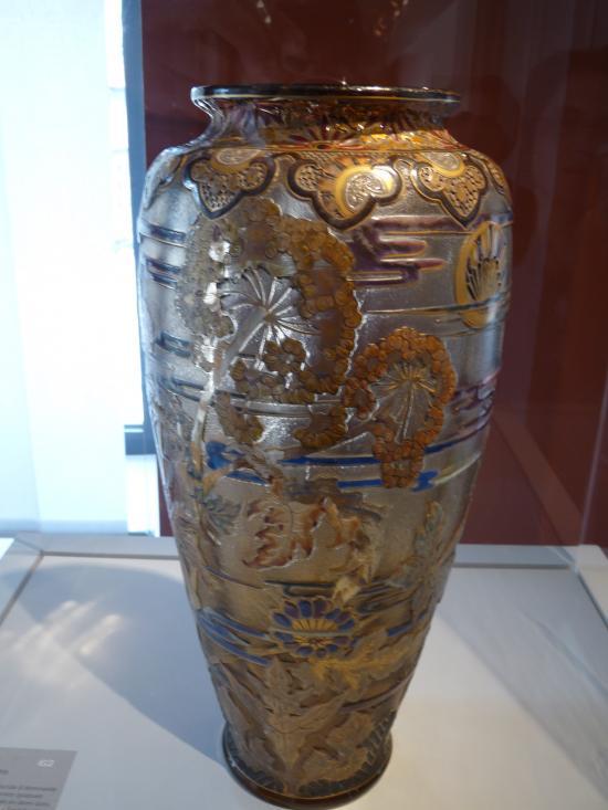 Vase aux fleurs de Gallé
