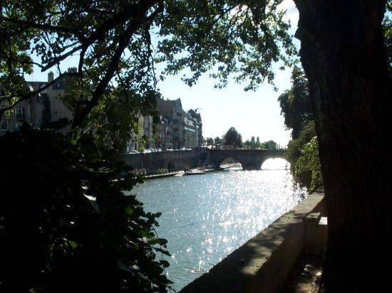 La Moselle vue depuis le jardin des amours