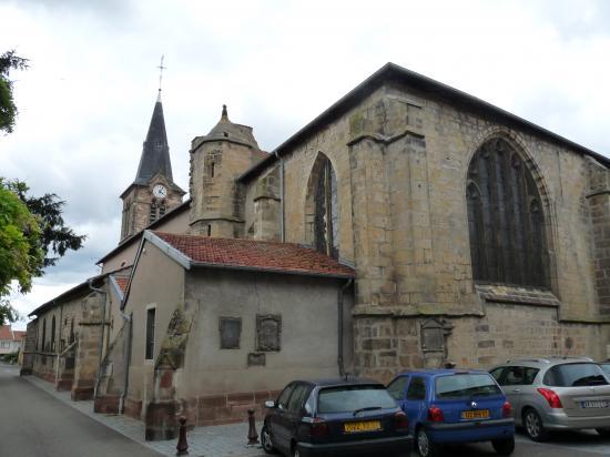 Vue sur l'église Saint-Marien