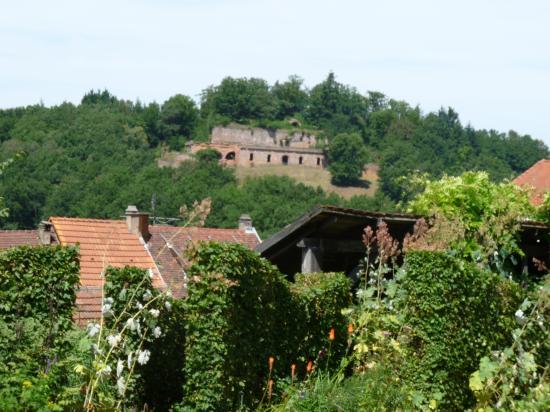 Vue sur le fort Saint-Sébastien