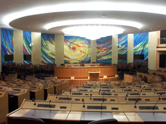 La salle du Conseil Régional
