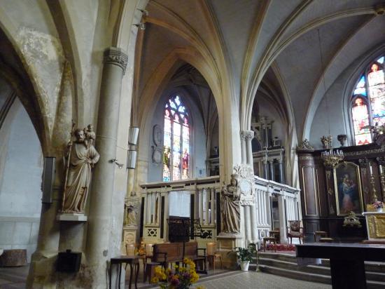 Intérieur de l'église Saint-Marien