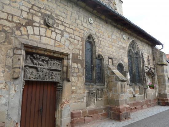 Détail de l'église Saint-Marien