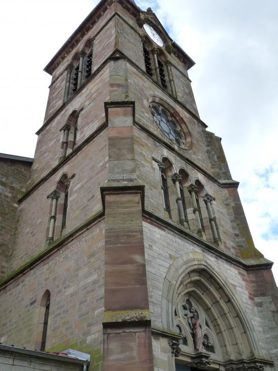 Clocher de l'église Saint-Marien (XIIIème - XVIème siècles)